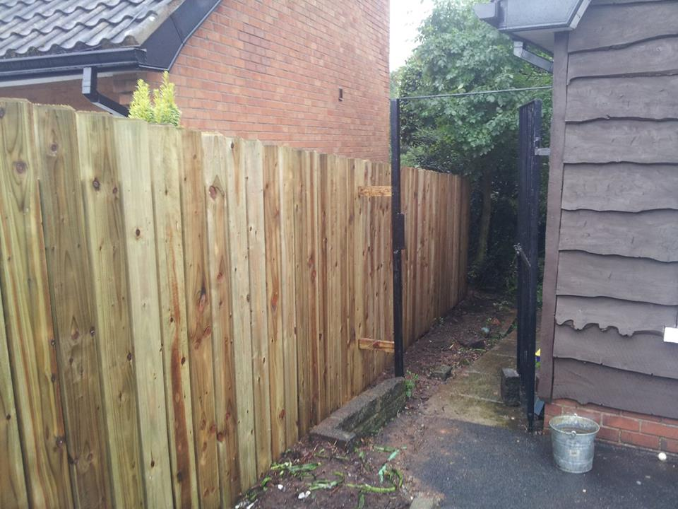 double side fence Castlereagh 3